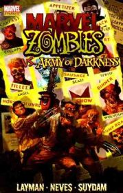 Marvel Zombies vs. Army of Darkness Graphic Novel Trade Paperback TP